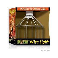 Wirelamp med porslins sockel Large