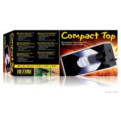 Compact top 30cm för 1 lågenergilampa