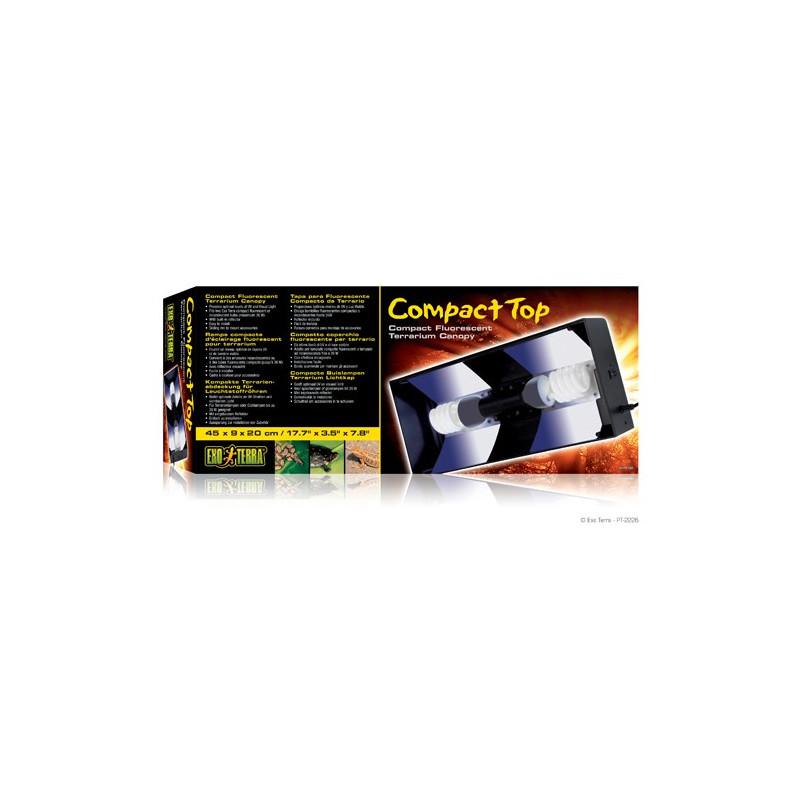 Compact top 45 cm, för 2st lågenergilampor