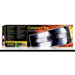 Compact top 60cm, för 3st lågenergilampor