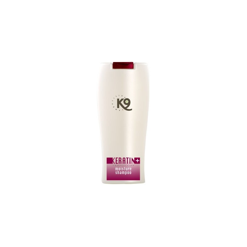 K9 Keratin + moisture schampo 300 ml