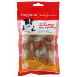 Dogman Miniklubbor 80g