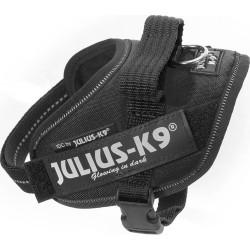 k9 IDC-sele, Mini-Mini, svart 40-53 cm
