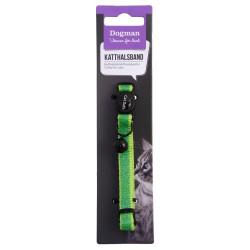 Katthalsband Glitter, Grön