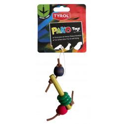 Fågelleksak Dedes Pako Pat Tyrol