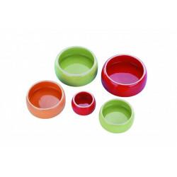 Skål Keramik - Rund med kant - 125ml - Röd