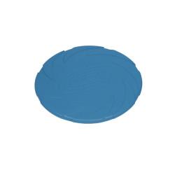 Hundleksak Gummi - Frisbee Spin - Ø15cm - Blå - Tyst