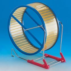 Hamsterhjul Plast Gul 15cm