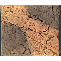 BTN Slimline 50B Basalt/Red gneiss 50x45cm